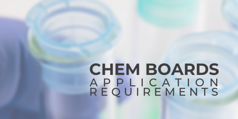 Chemist Licensure Exam Application Requirements